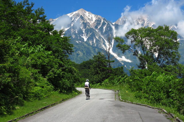 route08-02-640x427 WEAR・CLIMATE |  Cycle wear in Hakuba Ride and the climate of Hakuba Village
