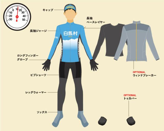 wear03-640x512 WEAR・CLIMATE |  Cycle wear in Hakuba Ride and the climate of Hakuba Village